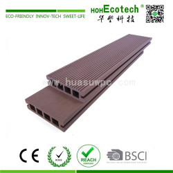 Recycled eco-friendly wood plastic composite decking boards