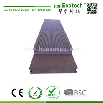 Landscaping wooden composite decking material