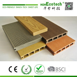 Discount outdoor wooden composite decking material