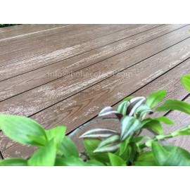 Outdoor waterproof wood plastic synthetic decking boards