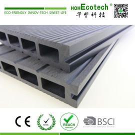 Nonslip barefoot wooden composite decking floor