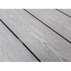 Wood grain good looking wood plastic composite decking boards