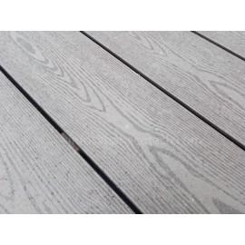 Wood grain good looking wood plastic composite decking boards