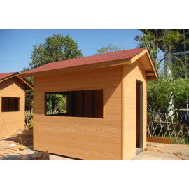 Outdoor weather-proof wood plastic composite wall cladding