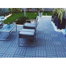 Backyard/garden decoration composite deck tile