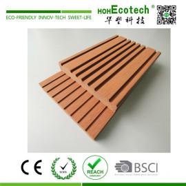 Cheap wood plastic composite marina deck board