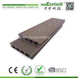 Wood grain good looking wpc composite deck covering