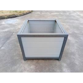 Co-extrusion wood plastic composite flower box