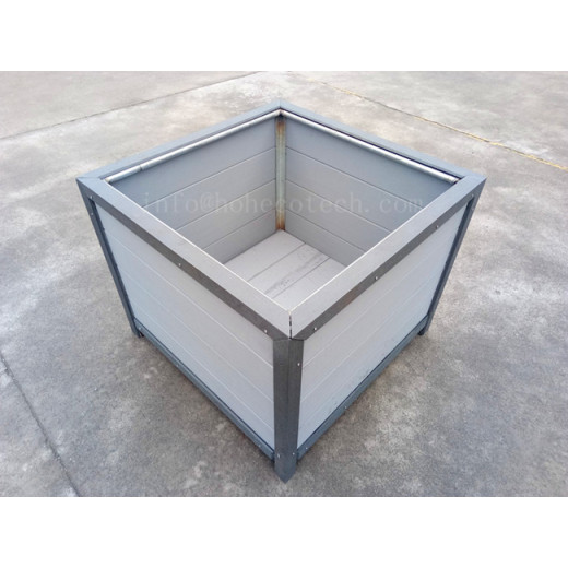 New arrival--Capped wpc flower box