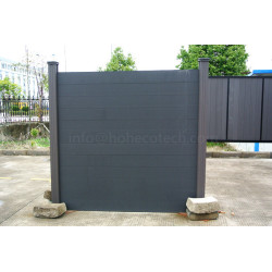 Waterproof durable landscaping wood plastic composite fencing material