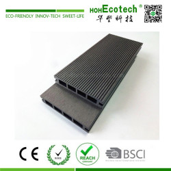 New product 135*25 mm outdoor wood plastic composite decking