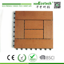 Fashion style external wpc deck tile