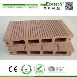 Waterproof wood plastic composite outdoor decking
