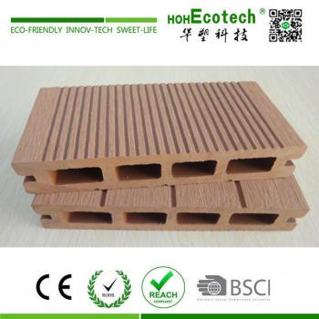 Waterproof wood plastic composite outdoor decking