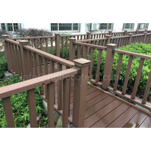 Outdoor waterproof railing material