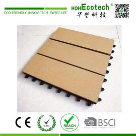 Garden platform wpc composite decking tile