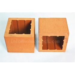 External waterproof wood plastic composite railing post