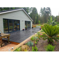 New garden wpc decking and wall cladding project
