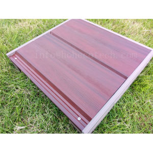 WPC co-extrusion exterior wall decoration panel samples