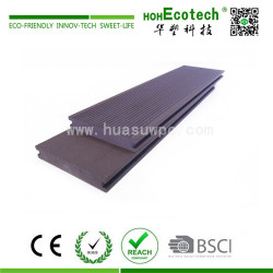 High strength wpc solid decking floor