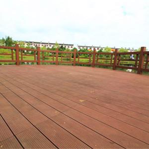 Anti-cracking wooden composite decking floor145S25-C