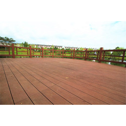 Anti-cracking wooden composite decking floor145S25-C