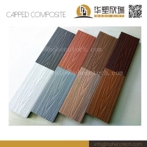 Wonderful colors of co-extrusion wpc material