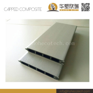 Outdoor co-extrusion wpc fence panel