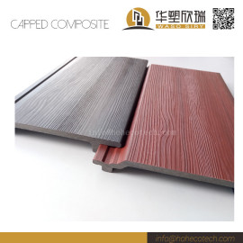Easy installation anti-cracking co-extrusion wpc composite wall tile
