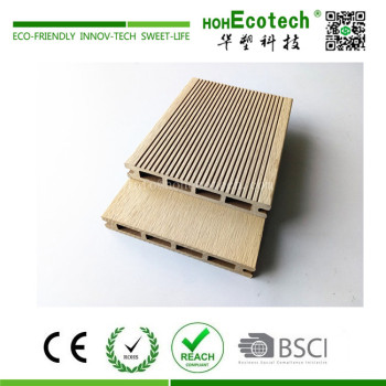 High quality low price external wooden composite deck flooring