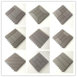 Anti-rot and anti-bending Burma teak outdoor wood decking tiles