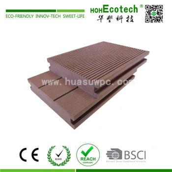 High bearing capacity durable wooden composite floor deck