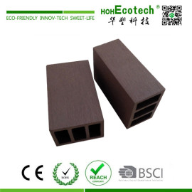 Wood like looking plastic composite railing