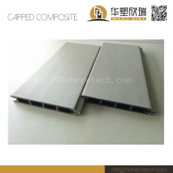 Interlocking co-extrusion wpc fence panel
