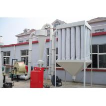 Thick wood powder production line