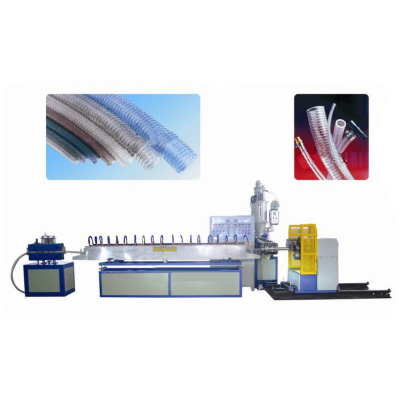 الأنابيب البلاستيكية آلة الصلب المقوى