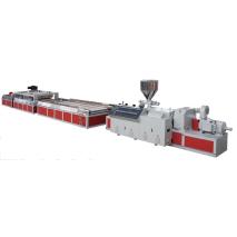 wpc profile extrusion line supplier