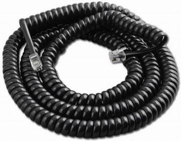 Спиральный кабель RJ11