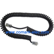 RJ45 spiral cable