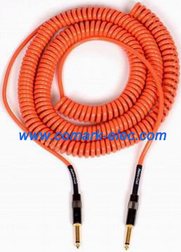 Special coiled cord