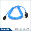 UK-C19 spiral power cable