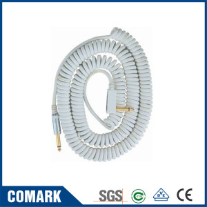 Special coiled cable