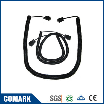 Customised coiled cable