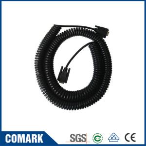 VGA DB9 spiral cable