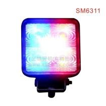 15W LED strobe work light warning light