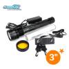 50W/38W military HID torch flashlight