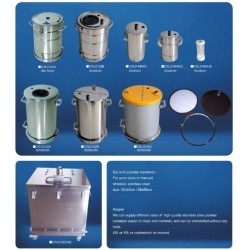 流化桶不透鋼粉桶