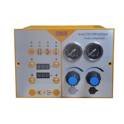 Digital Display Powder Coating System