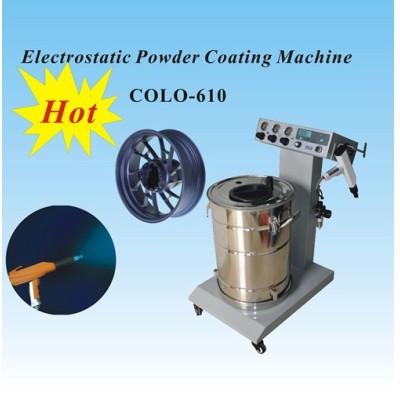 china powder coating machine