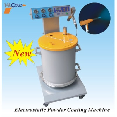 newest color powder coating system